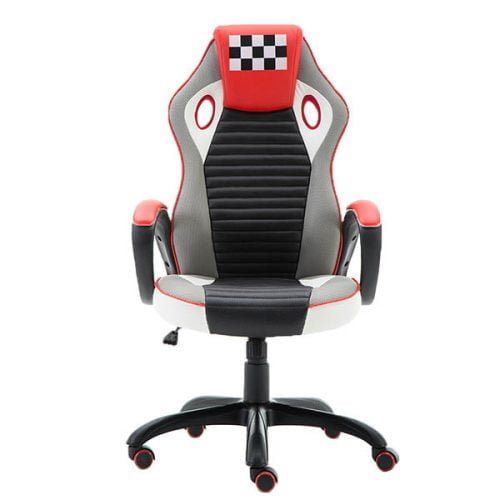 Ergonomic Racing Style PU Leather Gaming Chair for Home and Office
