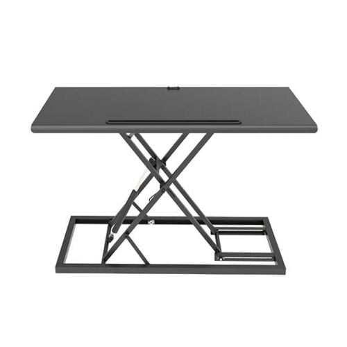 Height Adjustable Foldable Table With Gas Lift Mechanism