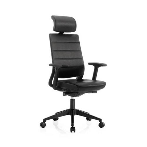 High Back Swivel Tilt Office Chairs PU Leather Executive Office Chair