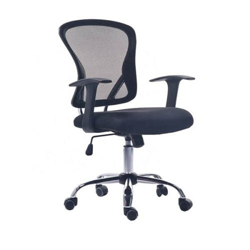 Swivel Adjustable Nylon Armrest Modern Ergonomic Mesh Office Chair