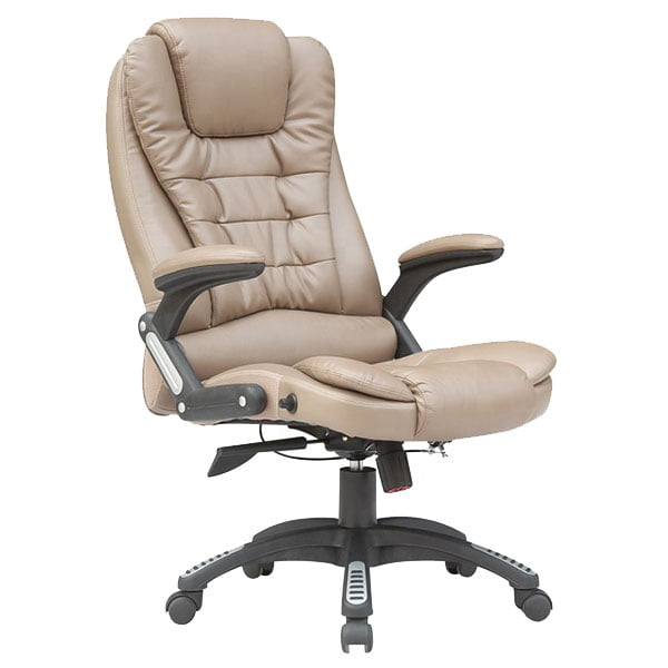 High Back Recliner Swivel Boss Office Chair Luxury Leather Executive Office Chair