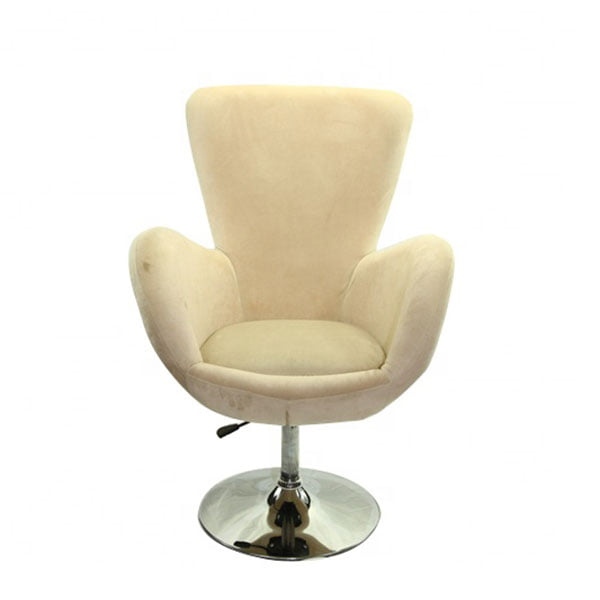 Egg Chair Accent Chairs.Factory Direct Swivel Egg Shaped Tufted Upholstery Fabric Cover