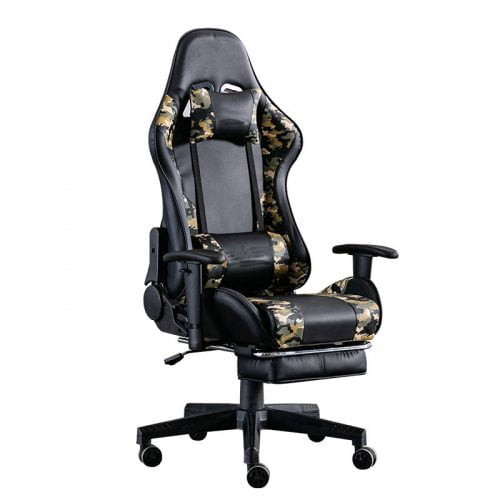 Customized Logo High Back Leather Swivel PC Gaming Chair