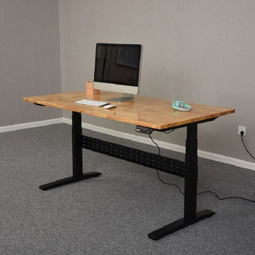 Electric Height Adjustable Standing Sit Stand Desk