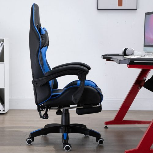 Recliner Home Computer Gaming Chair With Neck Support