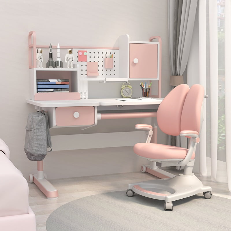 Kids Ergonomic Study Table Adjustable Height Desk