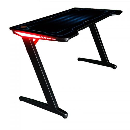 RGB Gaming Table Factory Carbon Fiber Racing Gaming Desk