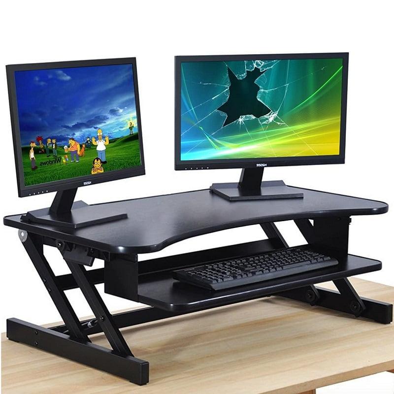 Standing Desk Converter Sit Stand Desk Rise Tabletop Workstation