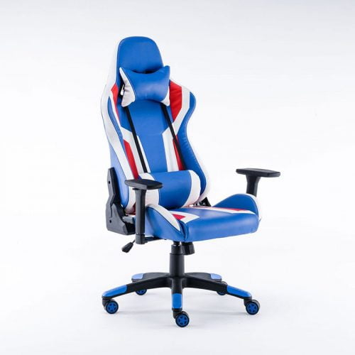 Custom Logo PU Leather PC RGB LED Gaming Chair