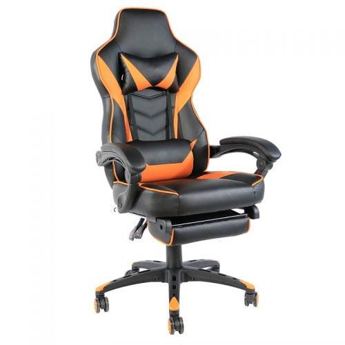 Customized Logo Reclining Racing Pink Ergonomic Gaming Chair