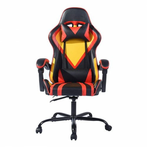 PU Leather Ergonomic Swivel Adjustable Gaming Chair