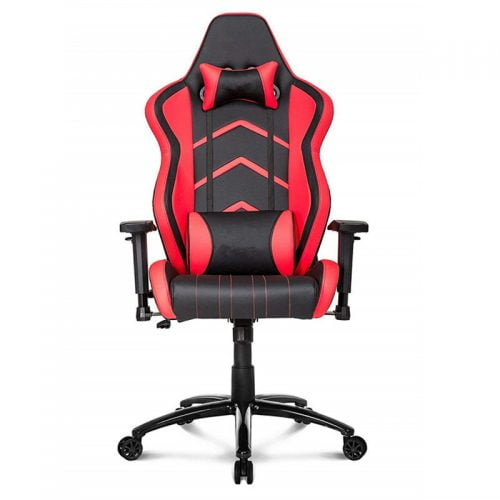 Wholesale Red Black Soft Leather PC Gaming Chair