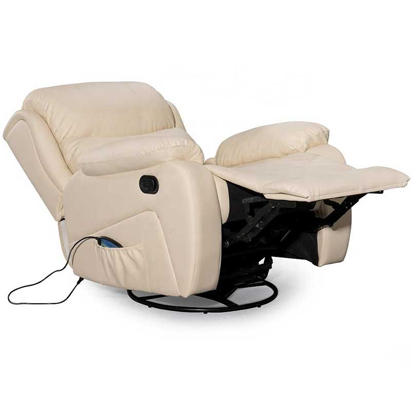 leather massage sofa