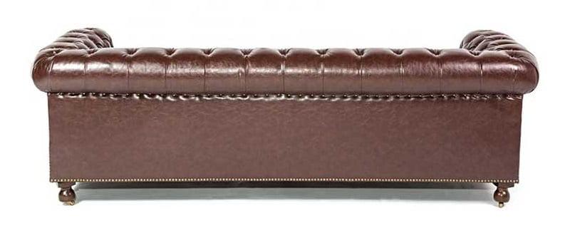 hotel leather sofa